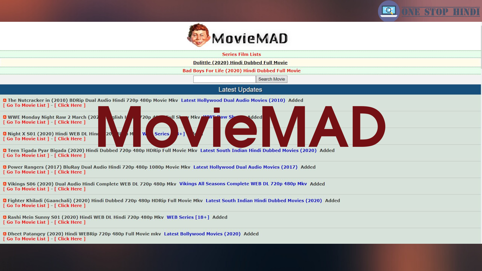 Download Movies From Moviemad Moviemad स Movies Download कर